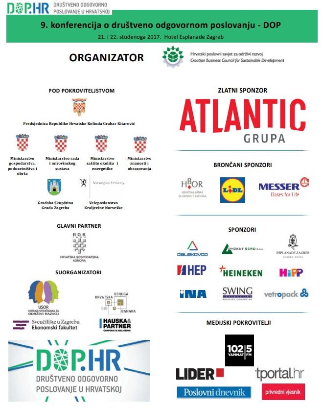 9. konferencija o DOP-u 2 - hrpsor Hrvatski poslovni savjet za održivi razvoj