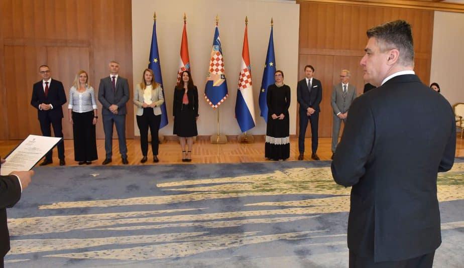 Izaslanstvo HR PSOR-a na prijemu kod predsjednika Republike 1 - hrpsor Hrvatski poslovni savjet za održivi razvoj