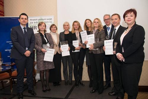 7. konferencija o DOP-u, dodjeljene nagrade Indeks DOP-a 2015. 1 - hrpsor Hrvatski poslovni savjet za održivi razvoj