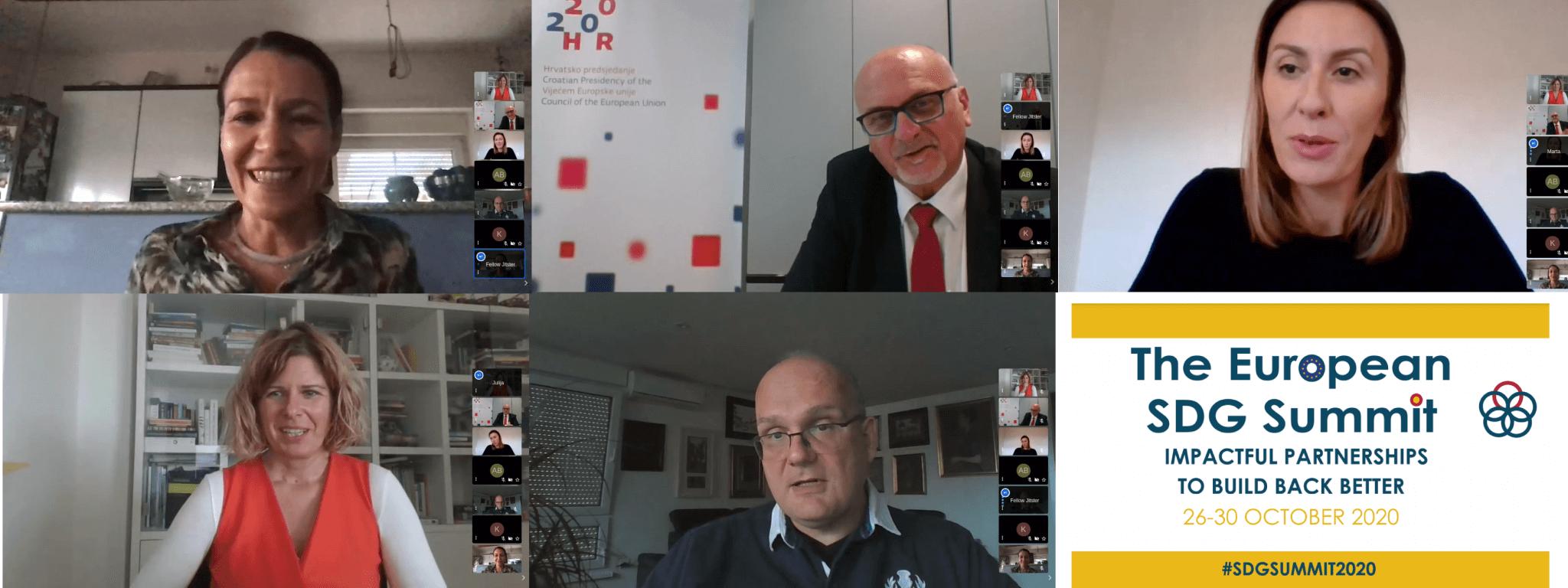 "Održan prvi okrugli stol SDG Samita u organizaciji HR PSOR-a pod nazivom ""Zelena javna nabava"" 1 - hrpsor Hrvatski poslovni savjet za održivi razvoj"