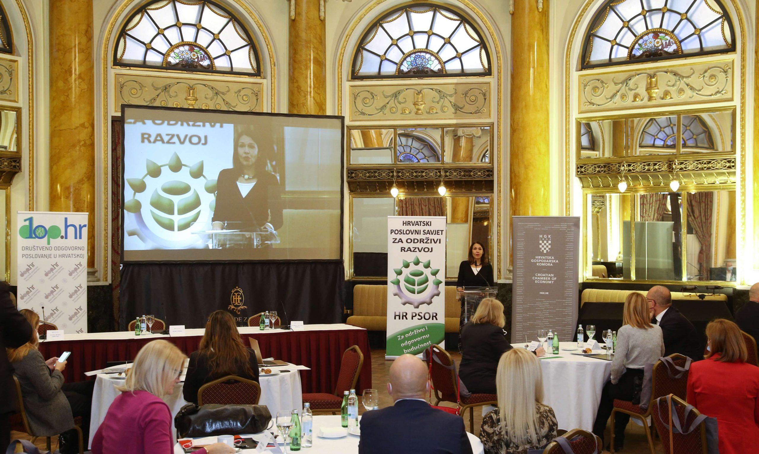 12. konferencija o DOP-u i 13. dodjela nagrada Indeksa DOP-a 1 - hrpsor Hrvatski poslovni savjet za održivi razvoj