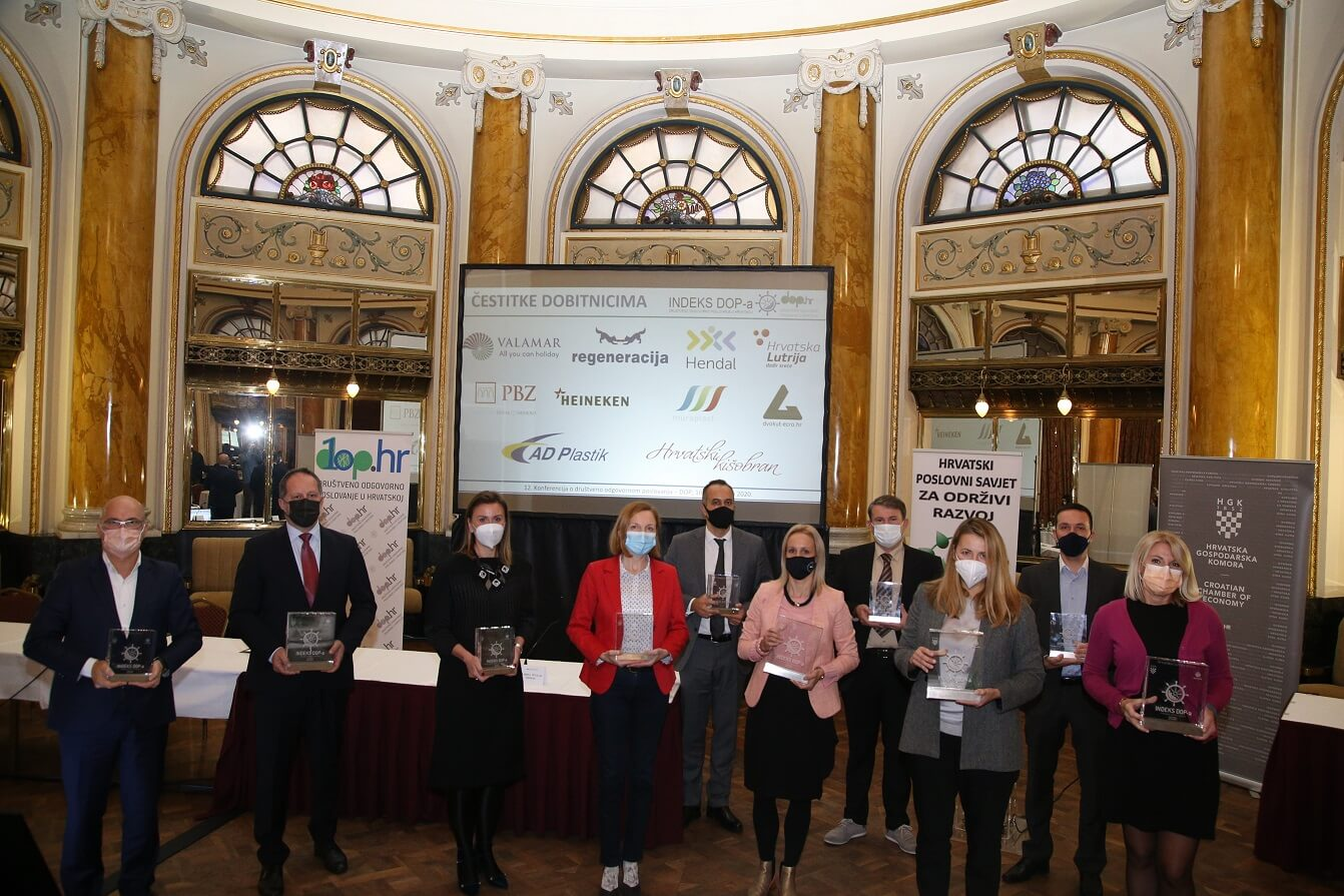 12. konferencija o DOP-u i 13. dodjela nagrada Indeksa DOP-a 8 - hrpsor Hrvatski poslovni savjet za održivi razvoj