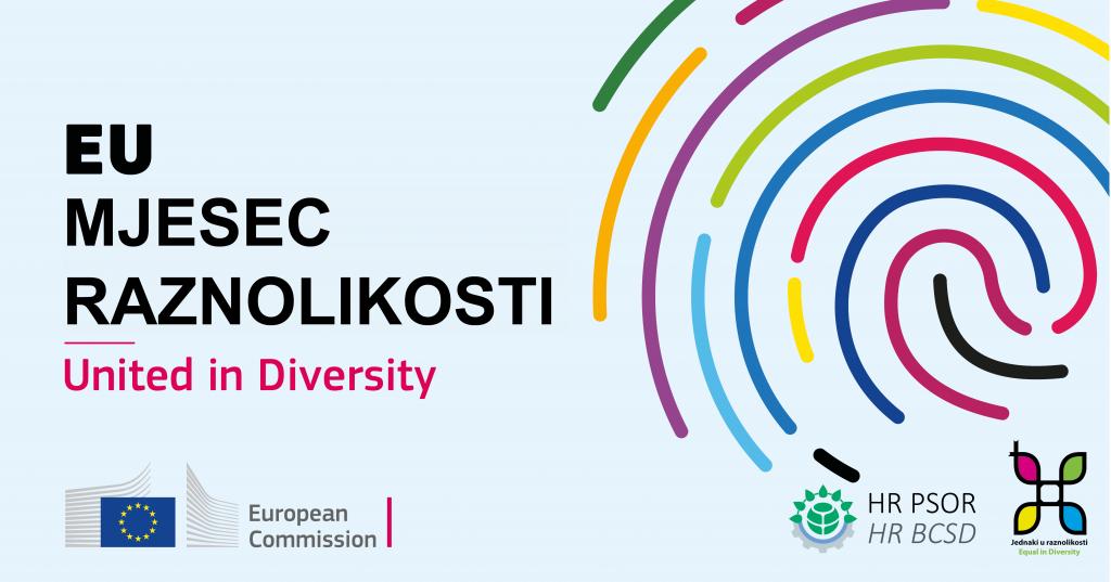Svibanj – Europski mjesec raznolikosti 1 - hrpsor Hrvatski poslovni savjet za održivi razvoj