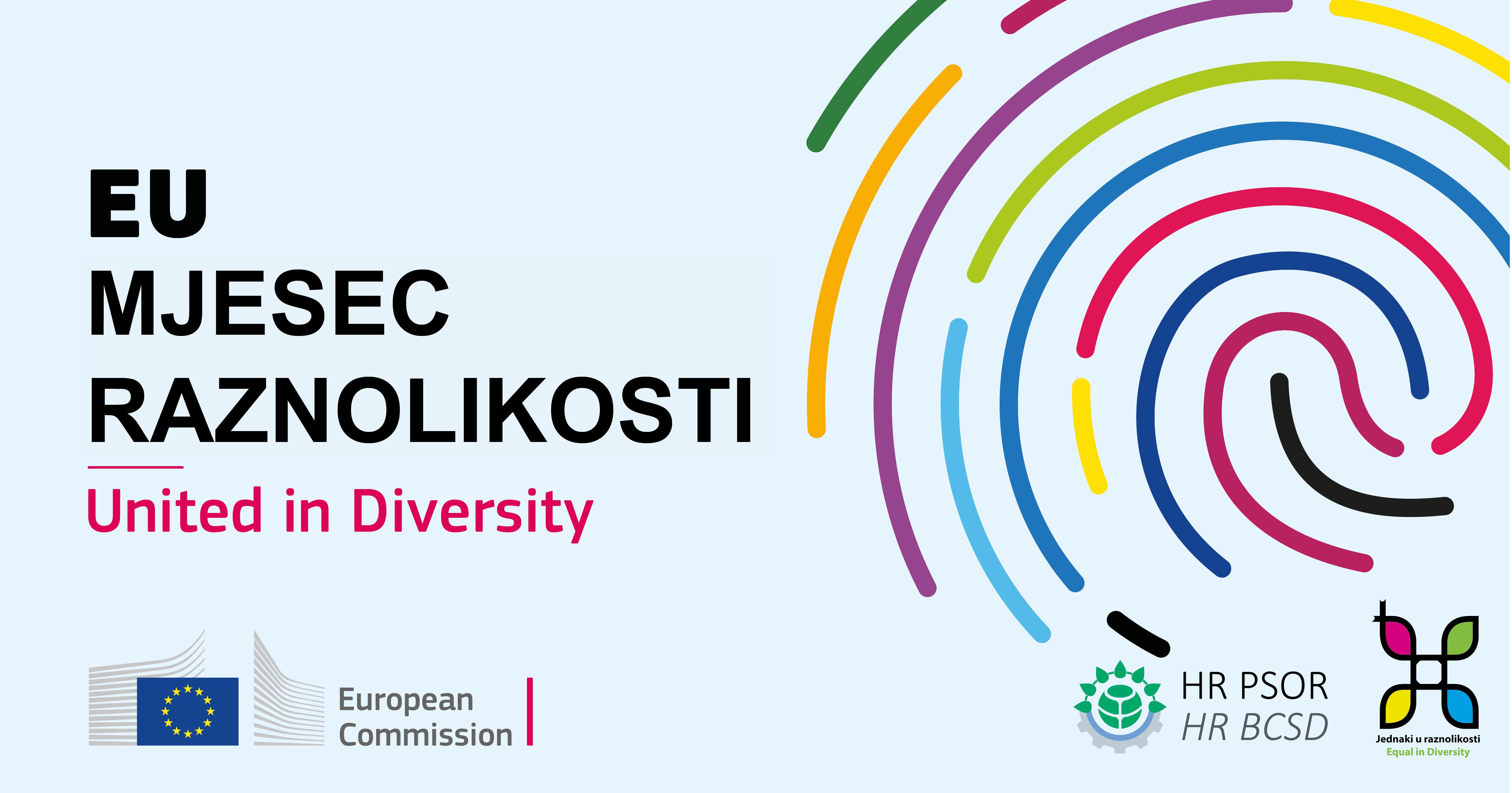 Svibanj, 2021. - Europski mjesec raznolikosti 1 - hrpsor Hrvatski poslovni savjet za održivi razvoj